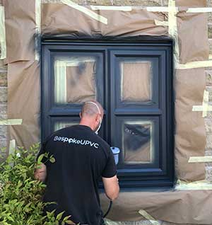 how upvc spray painting works
