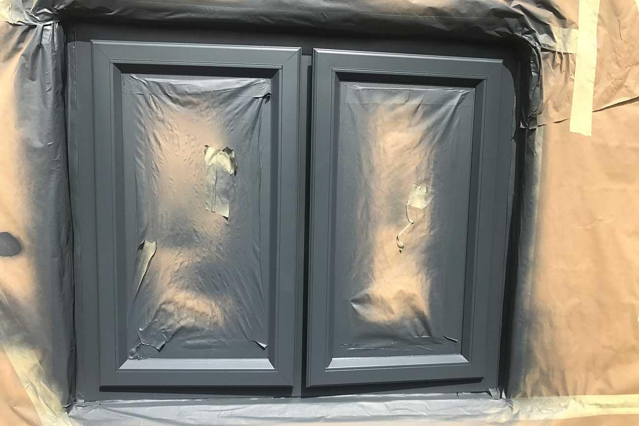 upvc spray painting services
