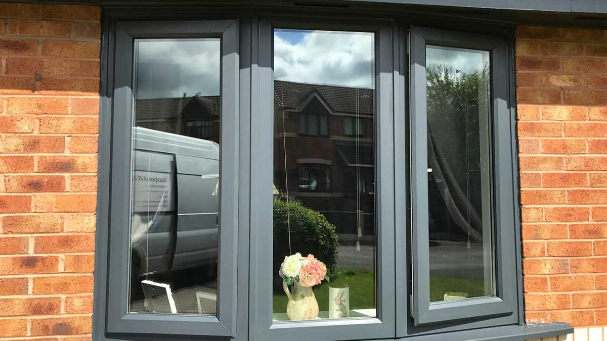 Can you paint brand new UPVC?
