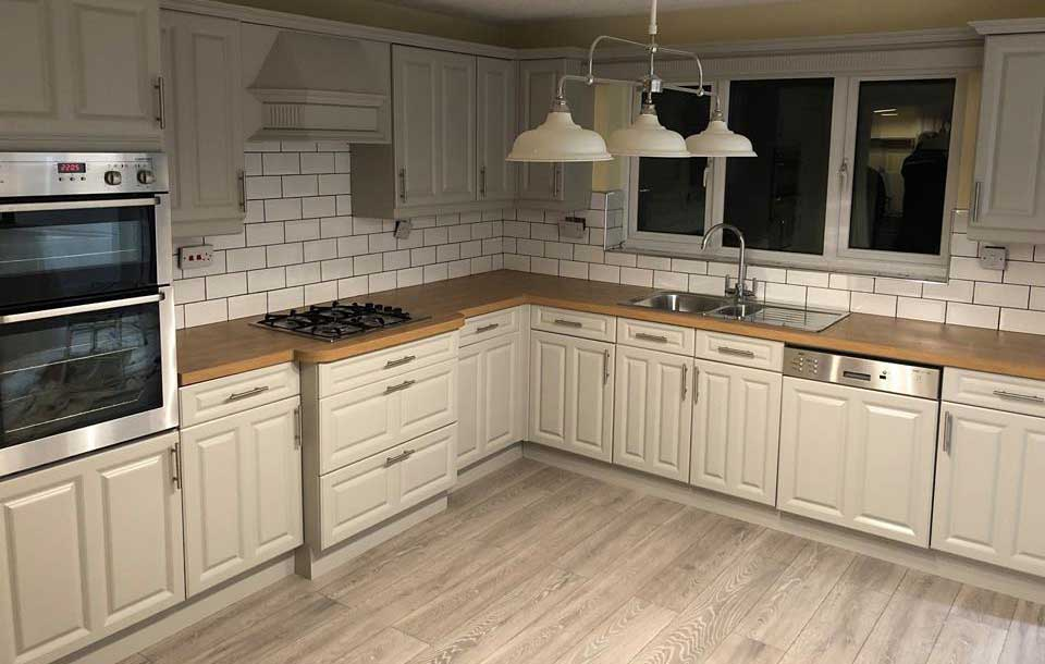 Spray Paint Or Vinyl Wrap For Kitchen Cupboards Upvc Spray Painting