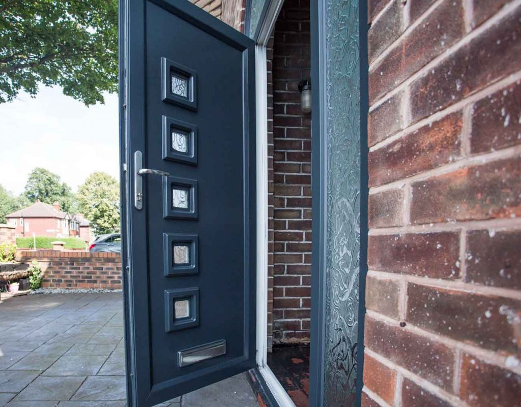 Upvc front door spray painting archives upvc spray - Interior door spray painting service ...