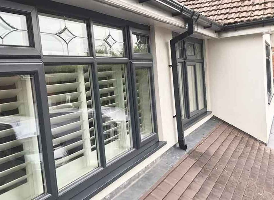 Do black UPVC windows fade