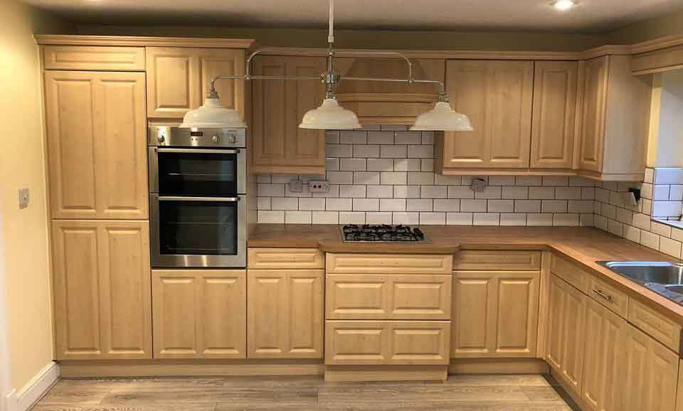 How Much Does It Cost To Spray Paint Kitchen Cabinets Kitchen Spray