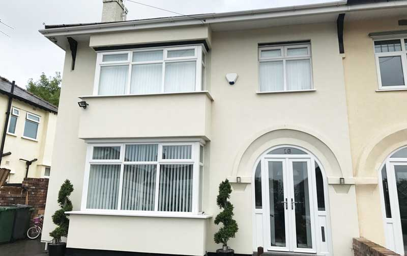 How to Get Your UPVC Window Frames White Again