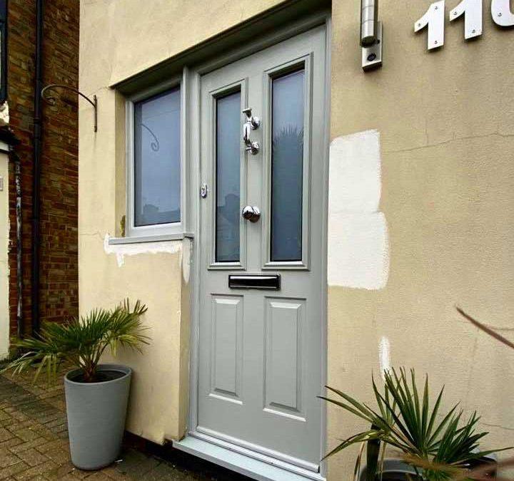 What's the best way to paint UPVC exterior doors