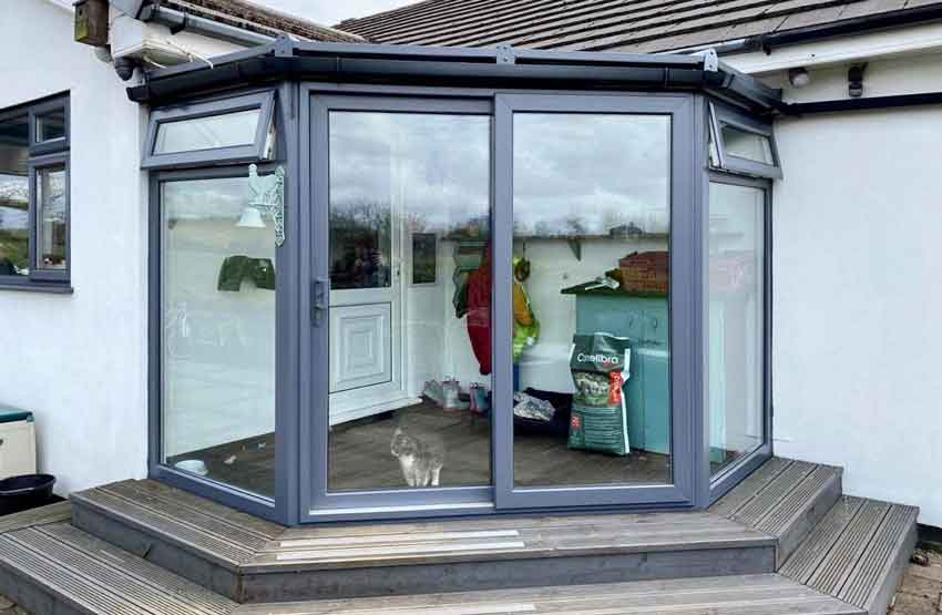 Can you paint sliding patio doors